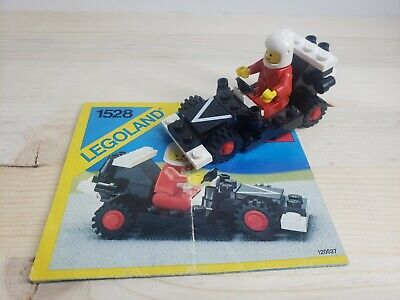 Vintage Lego 1528 Dragster (1986) - Complete with Instructions