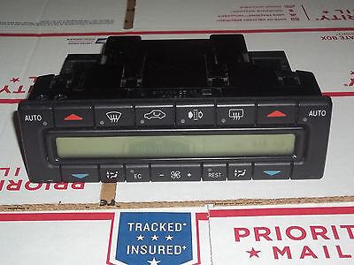 (Mercedes Benz w210 heater AC climate control unit E320 E420 E300 E55 years 96-99)