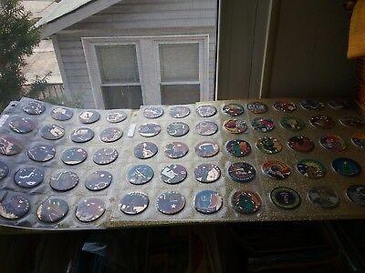 3 Sealed Bottle Caps (50 States Pogs Collection + 4 US Gov + CIA + DOJ + US Seal + 3 1991 Coins (HTF) )