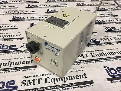 Moritex Fiber Optic Light Source- Mn Mhf-d100l Wwarranty