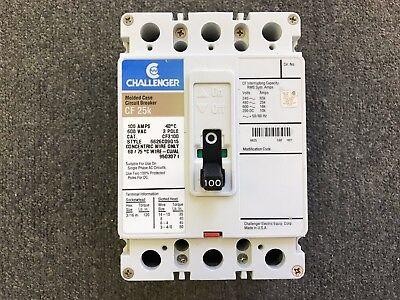 Challenger Circuit Breaker 100 Amp 600v 3 Pole Cf3100