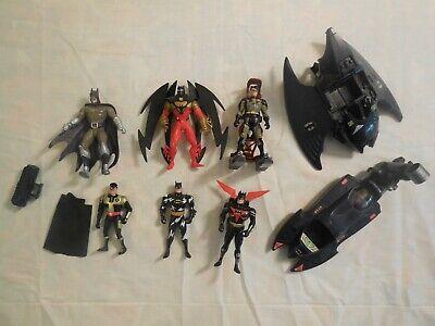 Batman Figuren DC Comics Kenner 1993 1994 mit Fahrzeugen und Zubehör