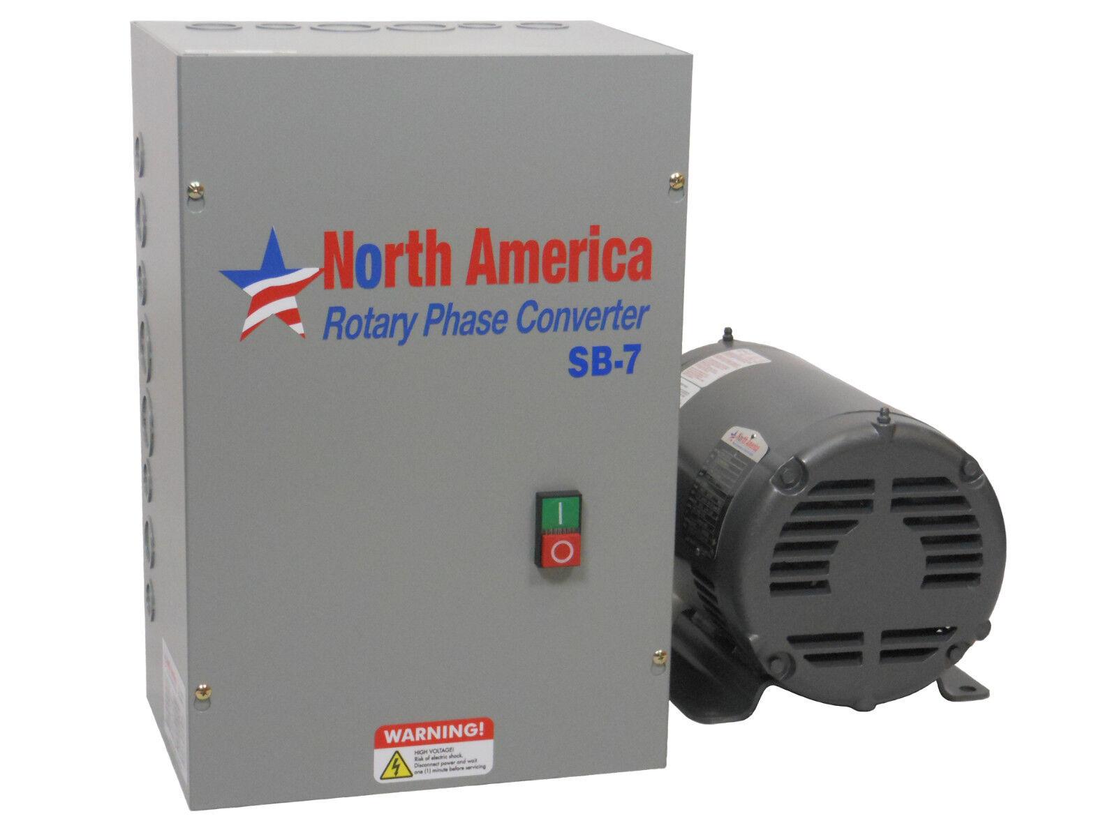 Sb 7 Smart Boost 75hp Digital Rotary Phase Converter Custom 3 Wiring Diagram Free Picture Baldor Generator