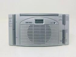 Seiko QHL014SL Talking/Alarm Stop Clock