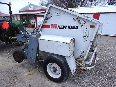 New Idea 484 Round Baler Electie-4x5 Size Bale Free 1000 Mile Shipping From Ky