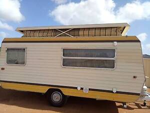 Retro 16ft Space Line Caravan Angle Vale Playford Area Preview