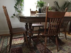 Beautiful Antique Dining Table