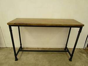 D4047 Terrific Industrial Hall Table Desk TV Stand Kitchen Island Unley Unley Area Preview