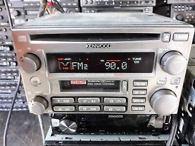 SUBARU KENWOOD GX-606F2 Car Radio CD Player Stereo Receiver from IMPREZA WRX STI segunda mano  Embacar hacia Mexico