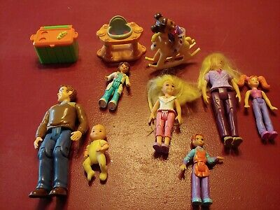 Fisher Price Loving Family Dollhouse Figures Sweet streets  Lot