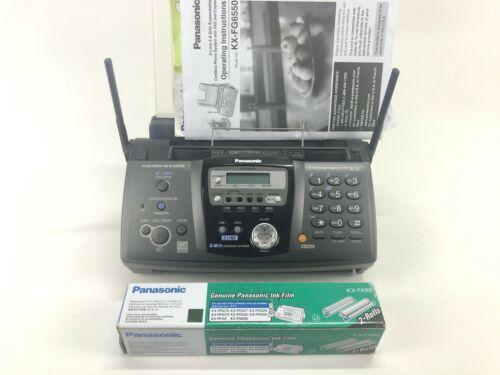 Panasonic KX-FG6550 2-Line, Plain Paper Fax/Copier Expandable