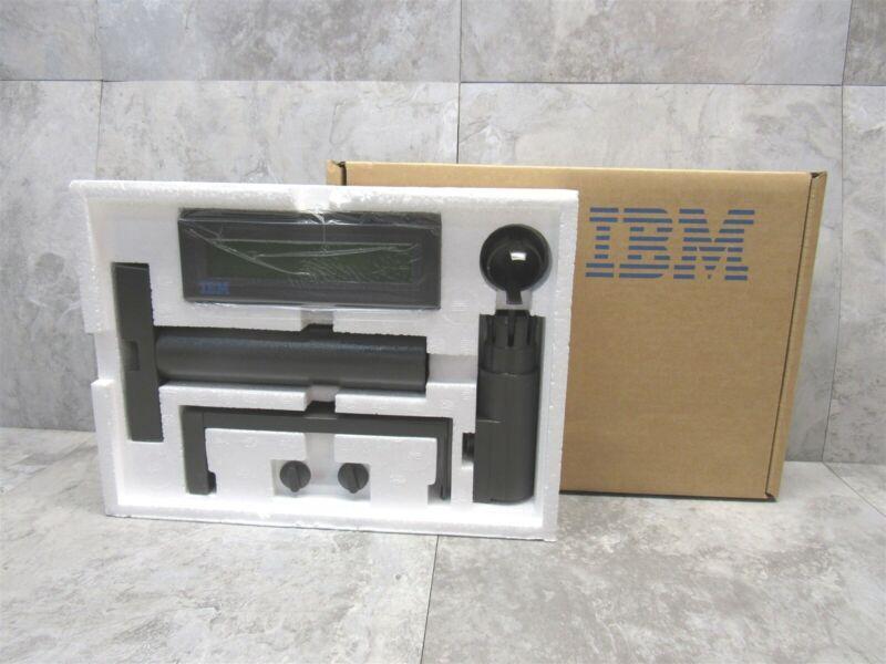 New IBM POS Pole Register Display 20x2 LCD Yellow Backlight 41J7311