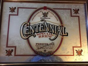 Centennial Michelob Special Brew Mirrored in Frame