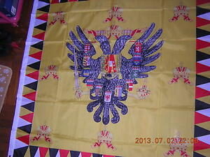 Flag of Imperial Royal Standard of Austria-Hungary Pre 1915 Ensign 120X120 cm