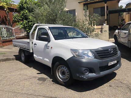 2014 Toyota Hilux Work mate Marrickville Marrickville Area Preview
