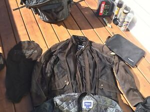 Triumph riding gear
