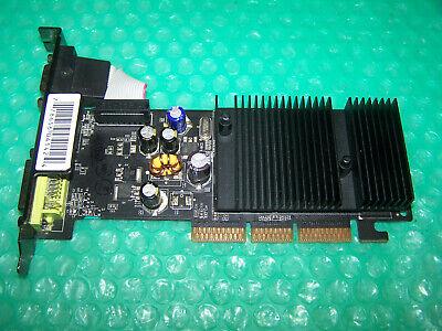 XFX Nvidia GeForce 6200 256MB DDR2 DVI/VGA/TV AGP Graphic Card, Win 7 compatible comprar usado  Enviando para Brazil