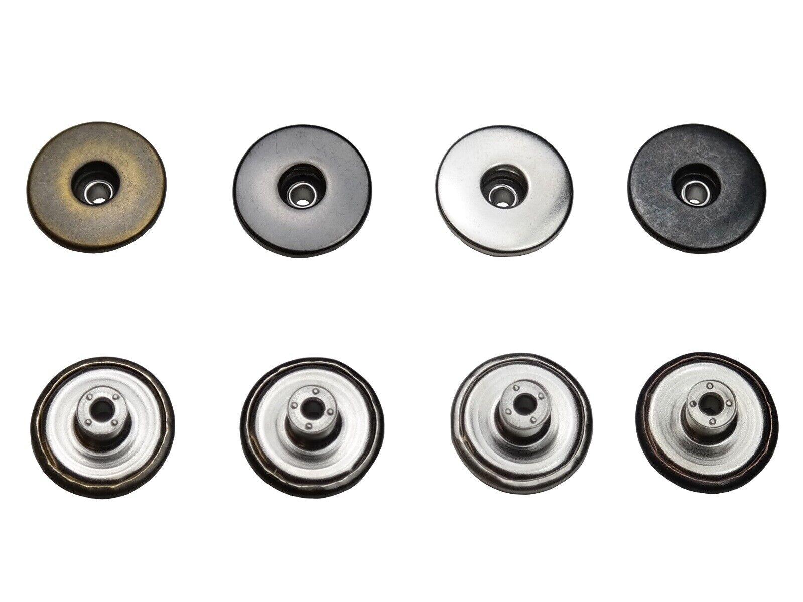 Jeansknöpfe, Rostfrei, Metallknopf, 14mm, 17mm, 20mm,Hosen, Jacken,Metall Knöpfe