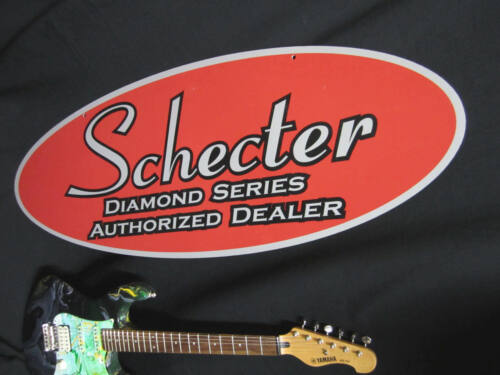 Schecter Double Sided Large Dealer Sign