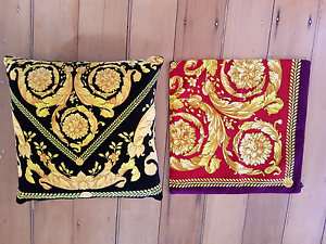 Versace cushions x2 original brand new New Farm Brisbane North East Preview