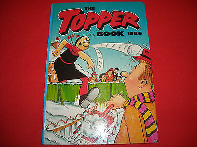 THE TOPPER ANNUAL 1986 EXCELLENT CONDITION, RARE