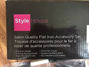 ACCESSORY SET FOR FLAT IRONS