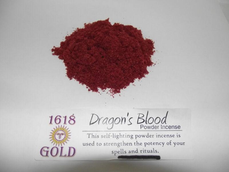 DRAGONS BLOOD GOLD POWDER INCENSE