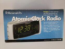 Emerson Research Digital Atomic Clock AM/FM Radio with dual alarm Model CKA1000