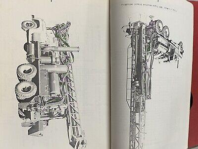Vintage Schramm Rotadrill Oil Water Well Drill Rig Manual Parts List T66b