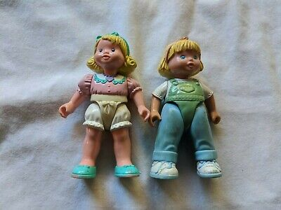 Fisher Price Loving Family Dollhouse Figures Lot - Daughters Sisters