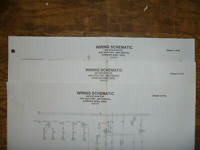 Bobcat 442 Excavator Electrical Wiring Diagram Schematic Manual