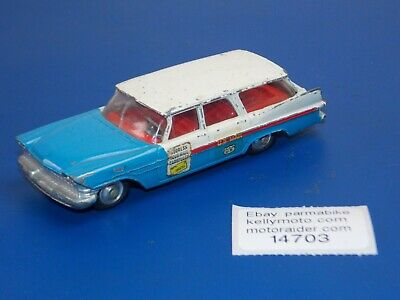 VINTAGE CORGI TOY CAR 1:43 MODEL SCALE PLYMOUTH SPORTS SUBURBAN US MAIL UK MADE