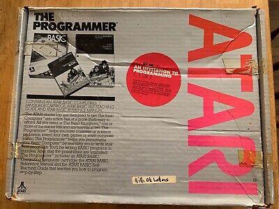 Atari 400 800 Computer System With Original Box Joysticks And Games.