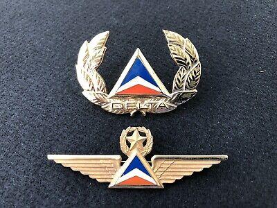 Authentic Vintage Delta Airlines Captain Pilot Win