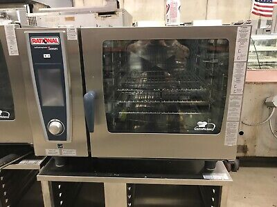 2019 Demo Rational 62ng Gas Combi Oven With Factory Warranty Convection Steamer
