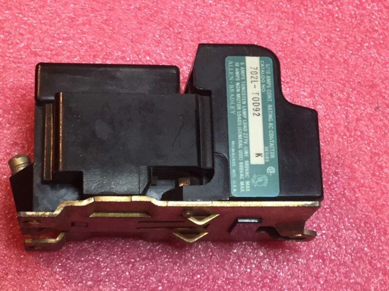 Allen Bradley 702L-TOD92 Contactor