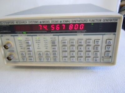 Stanford Reserch Systems Ds345 Synthesized Function Generator Tested.
