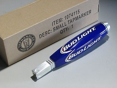 NEW Bud Light Short Jockey Tap Handle Beer Budweiser Pull knob Small Keg Brewery