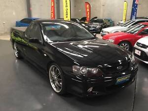 2005 Ford Falcon XR8 Ute with hard lid FAST FINANCE RENT TO OWN