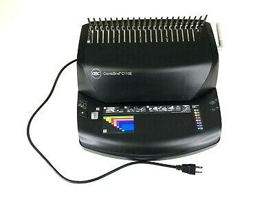 Gbc Combbind Plastic Comb Binding Machine Model C110e