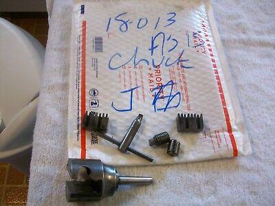 Chicago No. 1 2 Jaw Chuck Broken Screw From Vintage Shepherd 10 Metal Lathe