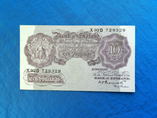 1940 Great Britain 10 Shillings Banknote *P-366*         *XF*
