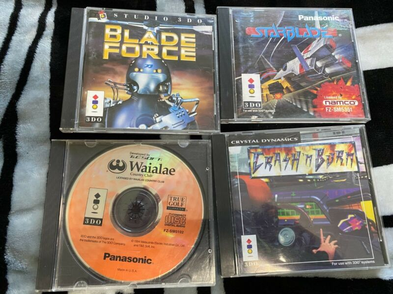3DO game lot