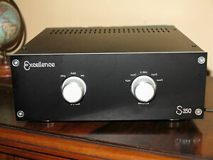 EXCELLENCE AUDIO STEREO PASSIVE PREAMP PREAMPLIFIER SOURCE SELECTOR ONLY