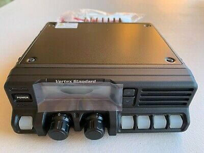 Vertex Standard Vx5500 Low Band Radio By Motorola With Vertex Mh53c Mic Bnib