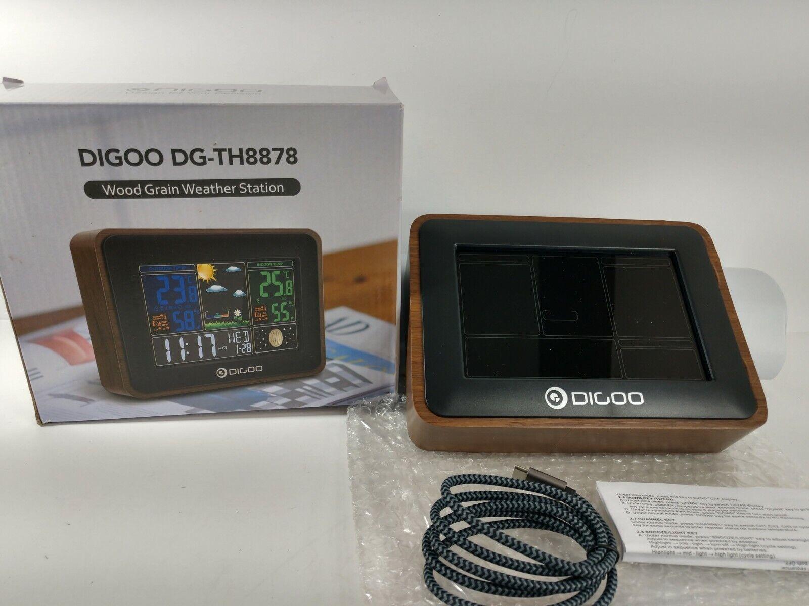 Outdoor Forecast  ☆NEW OL3 Digoo DG-TH8380 Wireless Weather Station