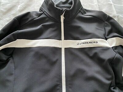 J Lindeberg Mid Layer Golf Top In Excellent Condition RRP £129