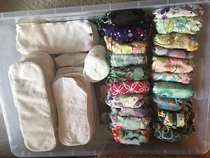 Glow Bug cloth diaper lot