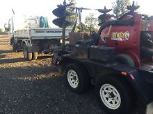 Dingo Mini Digger and Tipper Truck Hire - GMAC Ipswich Ipswich City Preview