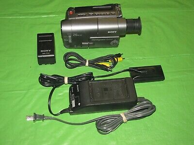 Sony Handycam CCD-TRV12 Video 8mm Analog Camcorder - Record Transfer Watch Tapes